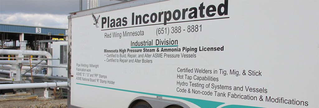 Plaas Delivers Industrial Solutions
